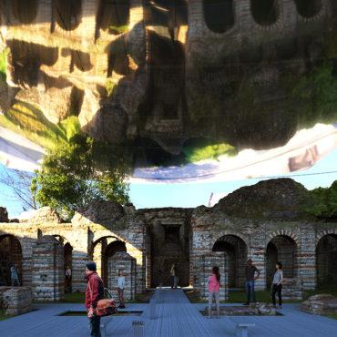 Couverture des crypto portiques – Bavay (FR)